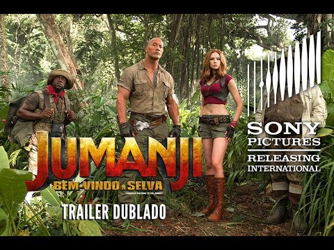 Jumanji | Trailer 1 Dublado | Em Breve nos cinemas