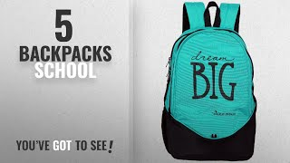 Top 10 Backpacks School [2018]: POLE STAR Polyester 36 Ltr Turquoise & Black Polyester Laptop