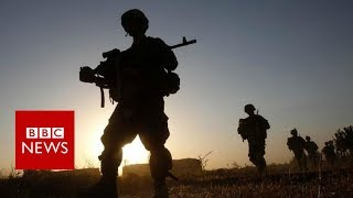 Trump flips, doubling down on Afghanistan - BBC News