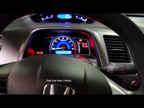 How To Remove A 2010 Civic Dash