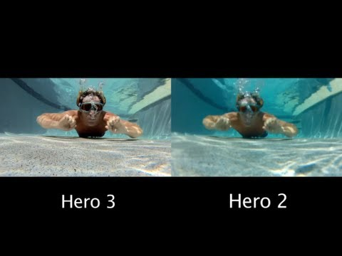 GoPro Hero 3 vs 2 - Under Water Comparison - GoPro Tip #60