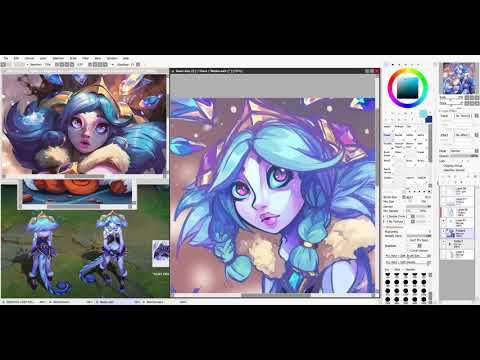 Winter Wonderland Neeko ~ Speedpaint