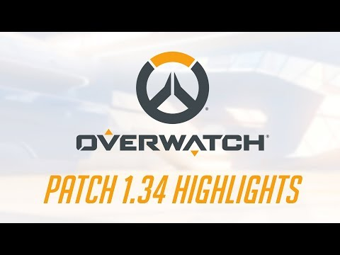 [NEW PATCH] Patch 1.34 Highlights | Overwatch thumbnail