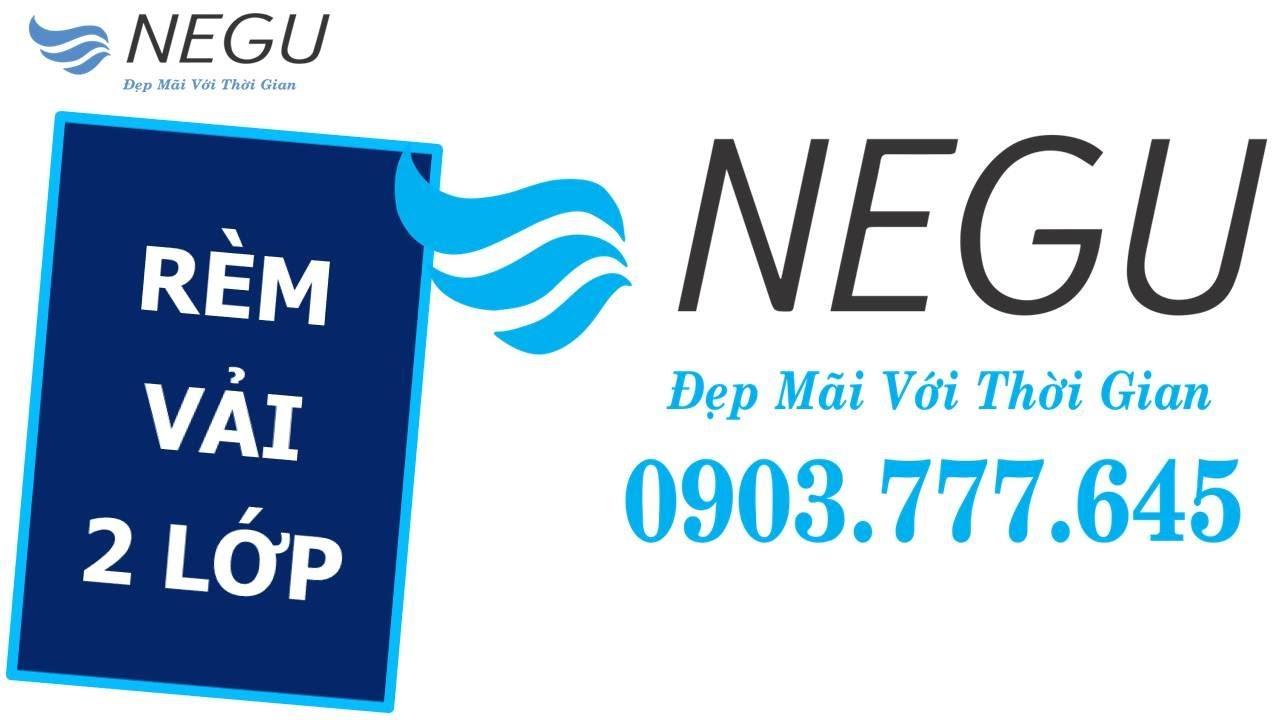 【NEGU】Rèm Vải 2 Lớp   ✅ Rèm Roman Đẹp   0903.777.645