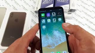 Купить 100 % копию Iphone X лучшая реплика/ распаковка Iphone 10 видео обзор копии Айфона 8 розетка