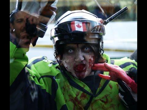 Quebec City's 7th Annual Zombie Walk