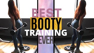 [ NEW ] Best Glute Training Fat Burning Exercises EVER - 8 exercises to Grow your Glutes [ 2019 ]