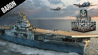 World of Warships Aircraft Carrier Hunting in Destroyers!  Wickes Class DD