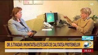 Dr. Simona Tivadar, despre nutritie si ce declanseaza de fapt cancerul - emisiune 3 martie ...