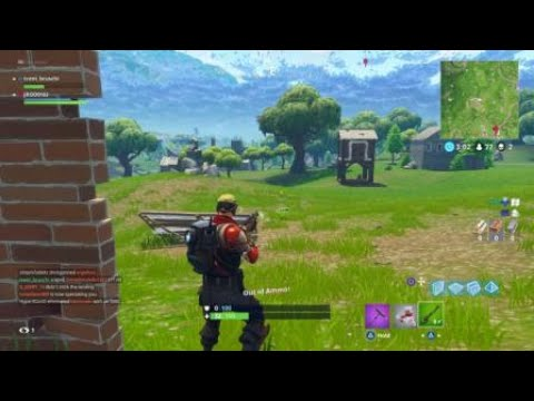 Fortnite Fun: Deal with What you Got