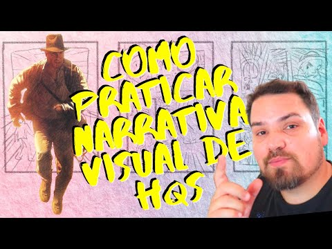 Como exercitar narrativa visual de quadrinhos - Tutorial
