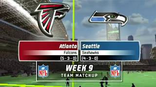 STRONG - FALCONS FRANCHISE VS SEAHAWKS - MADDEN 07 PS2 S4W9