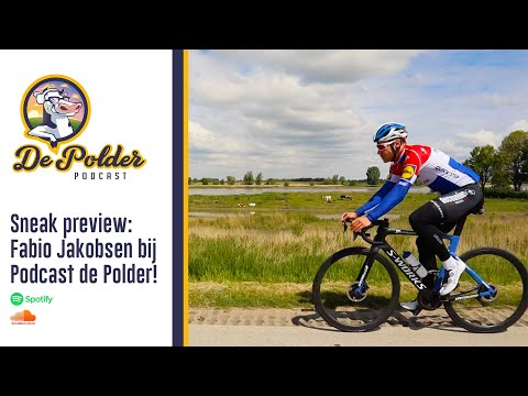 Fabio Jakobsen, The Hurricane of Heukelum, bij Podcast de Polder
