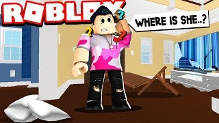 She went missing.. & I couldn't find her anywhere.. (Roblox Bloxburg Roleplay)