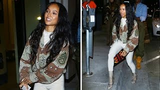 Karrueche Tran Looking Sexy At Catch As Chris Brown Reportedly Wants Her Back