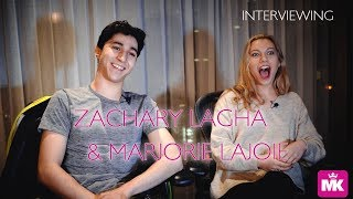 MARJORIE LAJOIE & ZACHARY LAGHA EXCLUSIVE INTERVIEW by MK Blades