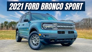 2021 Ford Bronco Sport Review - A Cool and Smaller Bronco