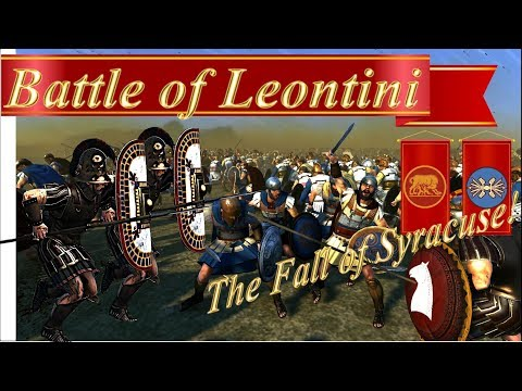 Rome 2 Total War, Battle of Leontini, 371 BC  