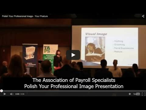 Polish Your Professional Image - Your Posture
