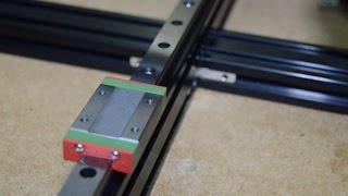 TEVO Tarantula i3 3D printer - HOW TO improve your printer - Part 6 (Rail upgrade)