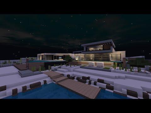 Minecraft Modern House 01