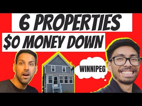HOW HE BOUGHT 6 PROPERTIES WITH NO MONEY DOWN | WINNIPEG HOUSE TOUR | HAPPY DIWALI 2020