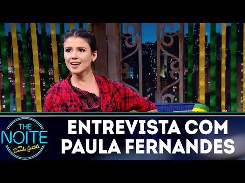 Entrevista com Paula Fernandes | The Noite (27/06/18)