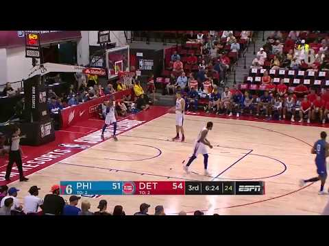 Zhaire Smith | Highlights vs Detroit Pistons (7.10.19)