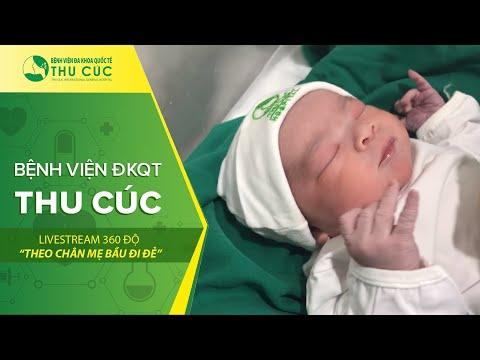 🖥 [LIVESTREAM] Bí kíp chăm sóc trẻ sơ sinh 24h đầu sau sinh