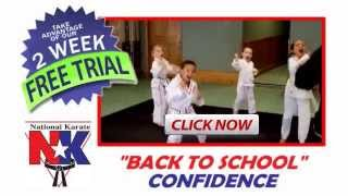 National Karate Back To School Programs - Rochester