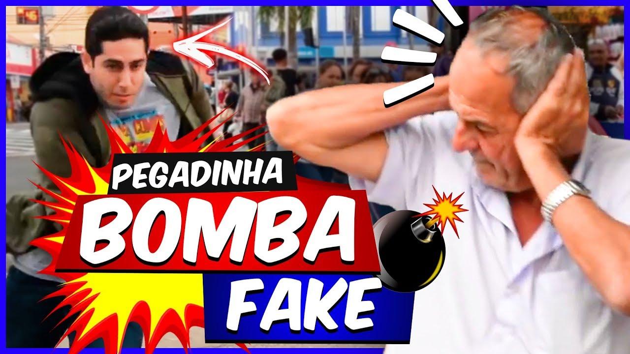 PEGADINHA: Bomba Fake - JONATHAN NEMER