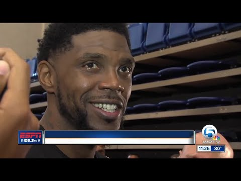 Udonis Haslem says he's got 'six fouls -- and a flagrant' for Dwyane Wade and LeBron James
