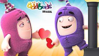 Oddbods | Pelo Amor Do Sorvete | Desenho Infantil | Oddbods Brasil