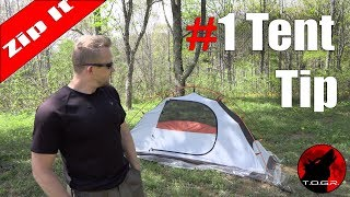 My Favorite Tent Tip - Backpacking Basics