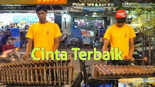 Video CINTA TERBAIK CASSANDRA - Angklung Malioboro Carehal (Pengamen Kreatif Jogja) Dangdut Koplo Cover download MP3, 3GP, MP4, WEBM, AVI, FLV Oktober 2017