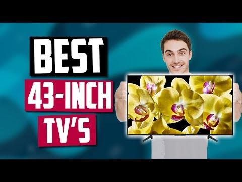 Best 43-Inch TV's in 2020 [Top 5 Picks]