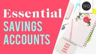 The 4 Savings Accounts Everyone Needs | The Financial Diet