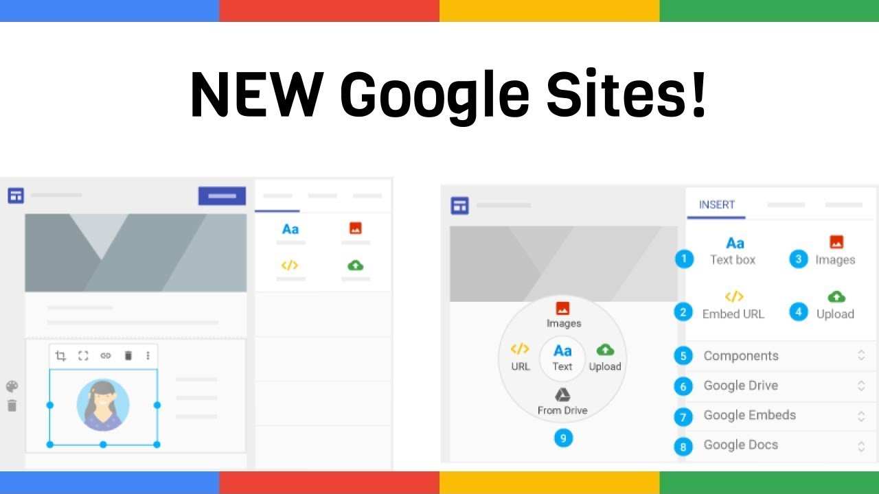 How To Use The New Google Sites Youtube