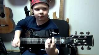 Ruslan Kuzmin (9 Year) - Ария Улица Роз