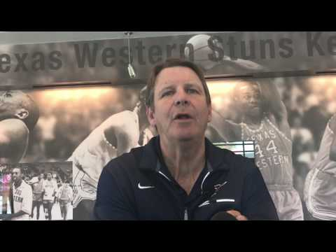Tim Floyd gives a state of the program update