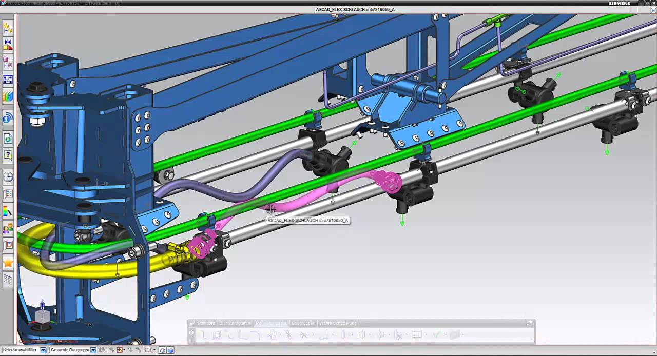 NX Routing Mechanical - YouTube