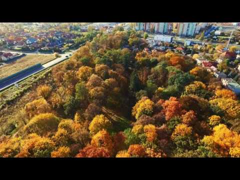 Polish golden autumn captured by Phantom 3 Advanced