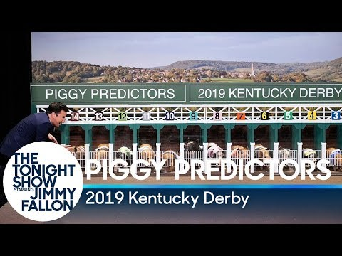 Piglets Predict the 2019 Kentucky Derby