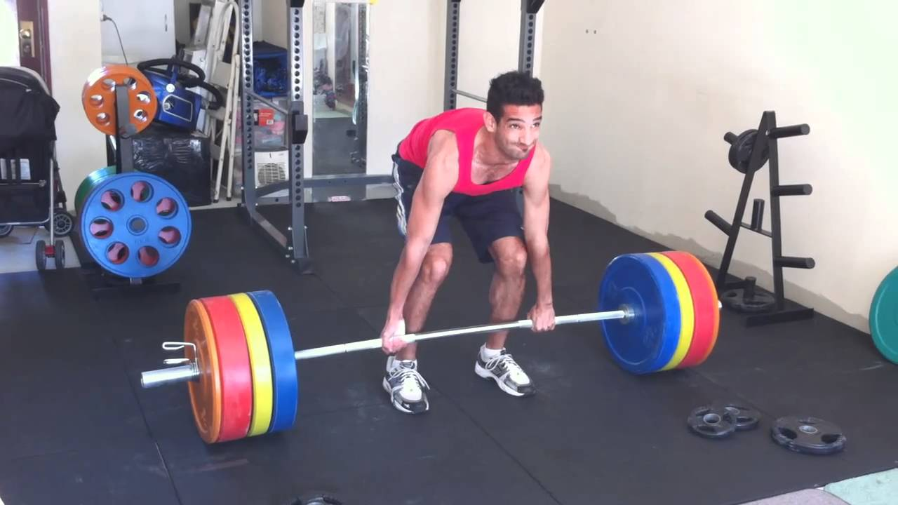 Jon 150kg Deadlift @ 70kg Bodyweight