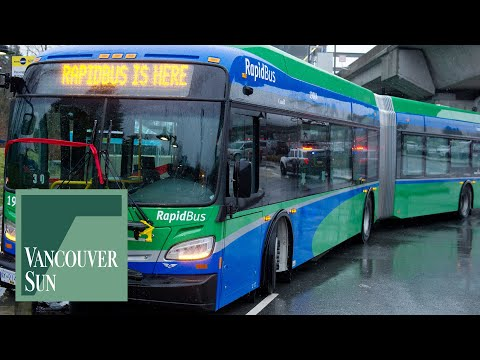 TransLink Launches New And Revamped RapidBus Routes | Vancouver Sun