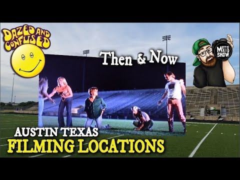 DAZED AND CONFUSED - FILMING LOCATIONS!!! - Austin Texas.