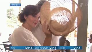 Анна Банщикова в репортаже Первого канала о продолжении сериала «Ищейка»