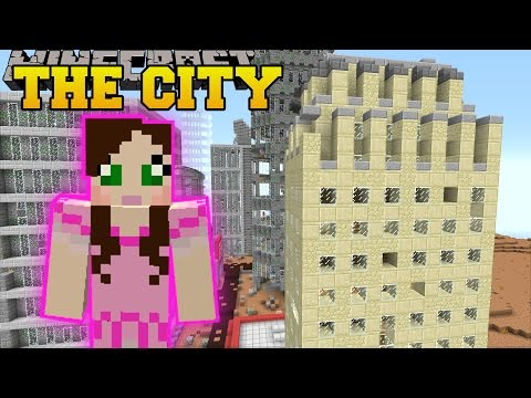 Minecraft: SKYSCRAPERS! (SURVIVE IN A CITY, TOWN, & VILLAGE!) Mod Showcase