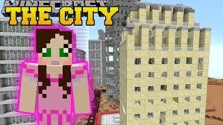 Minecraft: SKYSCRAPERS! (SURVIVE IN A CITY, TOWN, & VILLAGE!) Mod Showcase