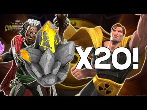 Opening 20x Hyperion and Doctor Voodoo Crystals! - Marvel Contest Of Champions